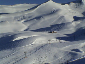 Amazing Landscape - Valle Nevado Chile - Sept. 2002 photo