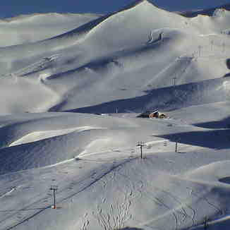 Amazing Landscape - Valle Nevado Chile - Sept. 2002