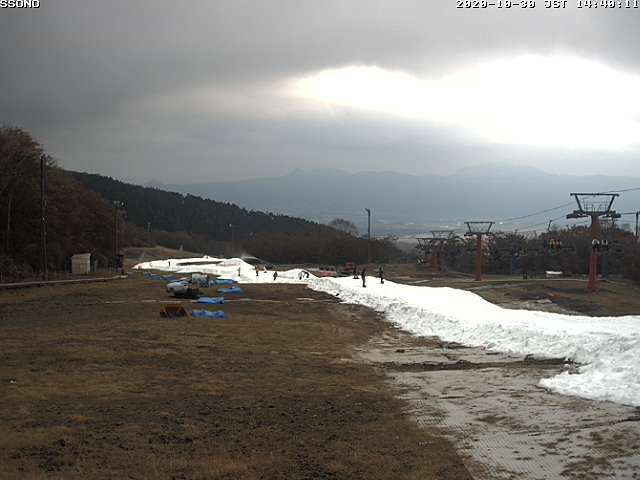 snow-making at the start of the season, Snow Town Yeti