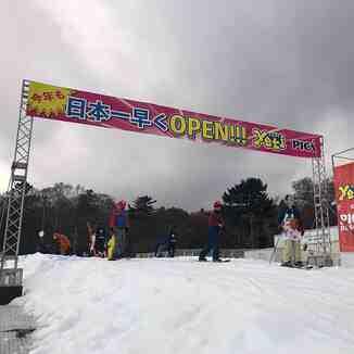 season gets going, Snow Town Yeti