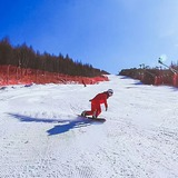 piste run, China - Hebei