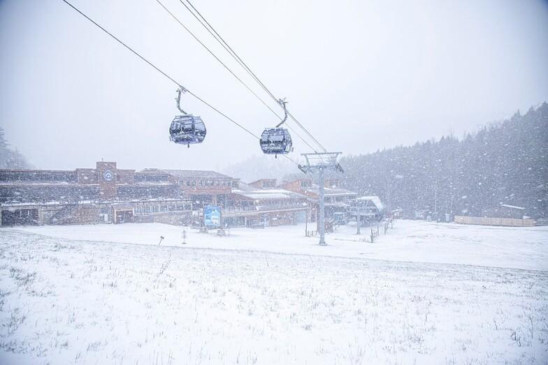 winter has begun, Whiteface Mountain (Lake Placid)