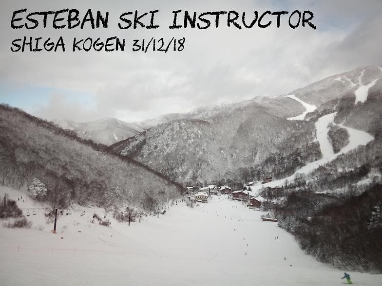 Shiga Kogen-Giant snow