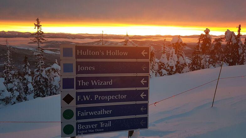 Signs, Baldy Mountain Resort