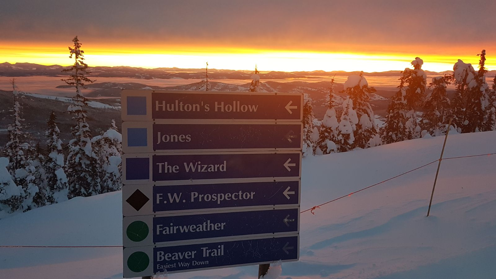 Signs, Baldy Mountain Resort