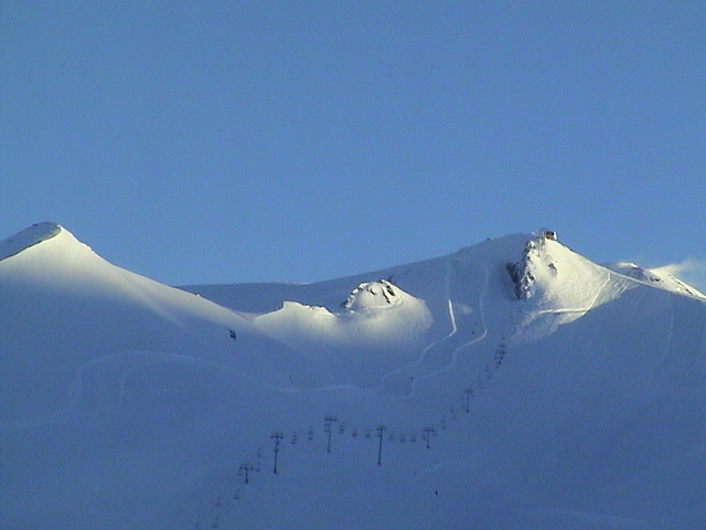 Valle Nevado (Chile) - Sept. 2002 - Snow or Desert - Definitely Snow!