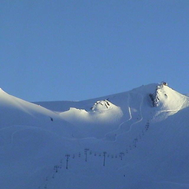 Valle Nevado (Chile) - Sept. 2002 - Snow or Desert - Definitely Snow!