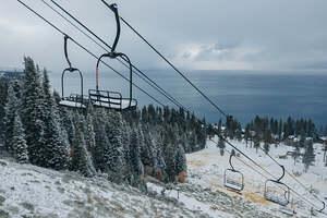 early winter, Homewood Mountain Resort photo