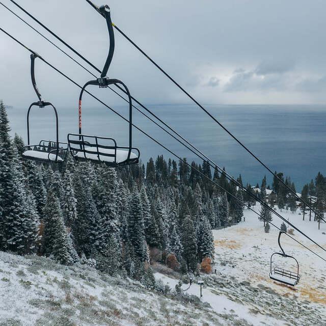 early winter, Homewood Mountain Resort