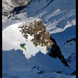 Tavascan freeride ski resort Pyrenees, Tavascan - Pleta del Prat