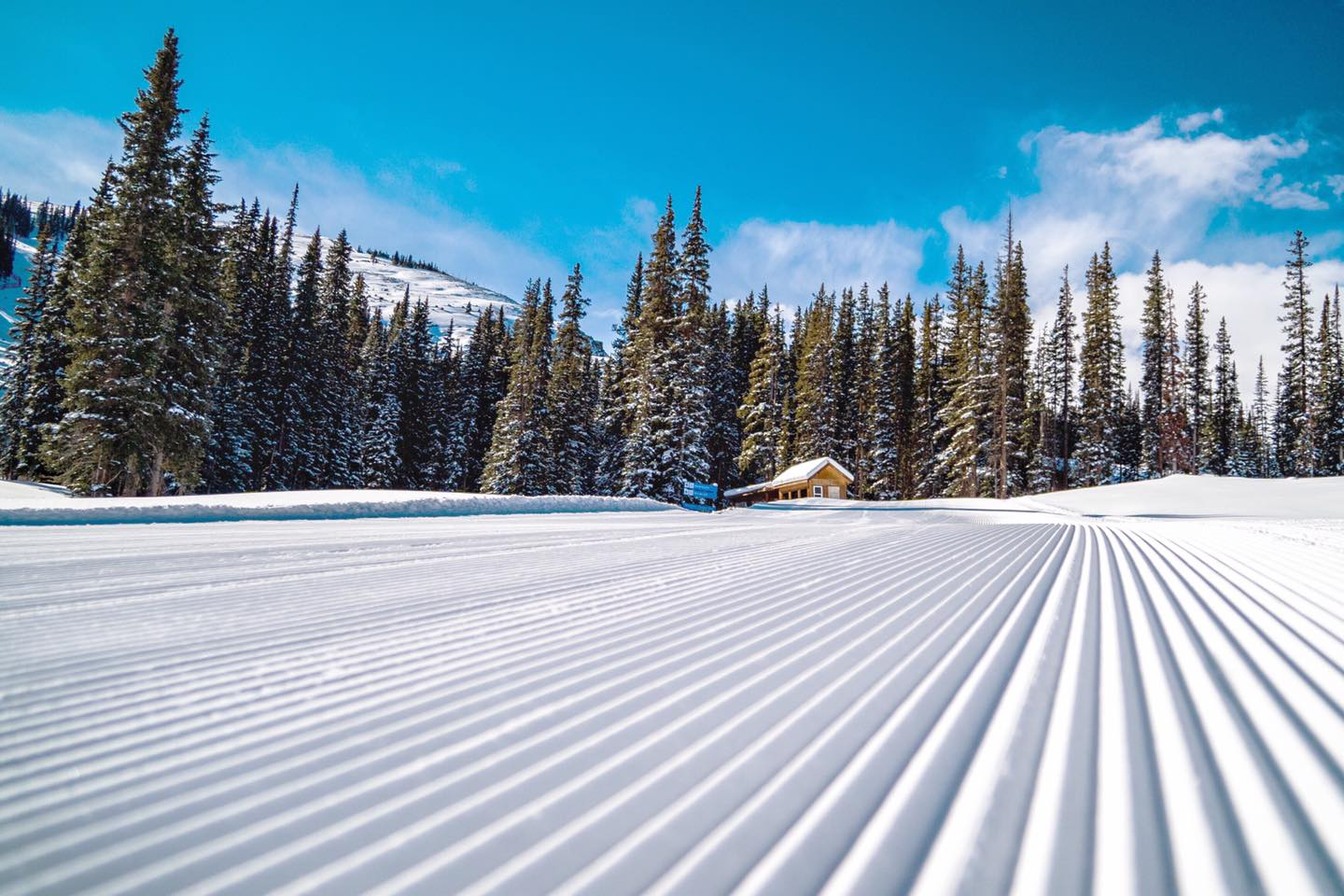 open for business, Copper Mountain