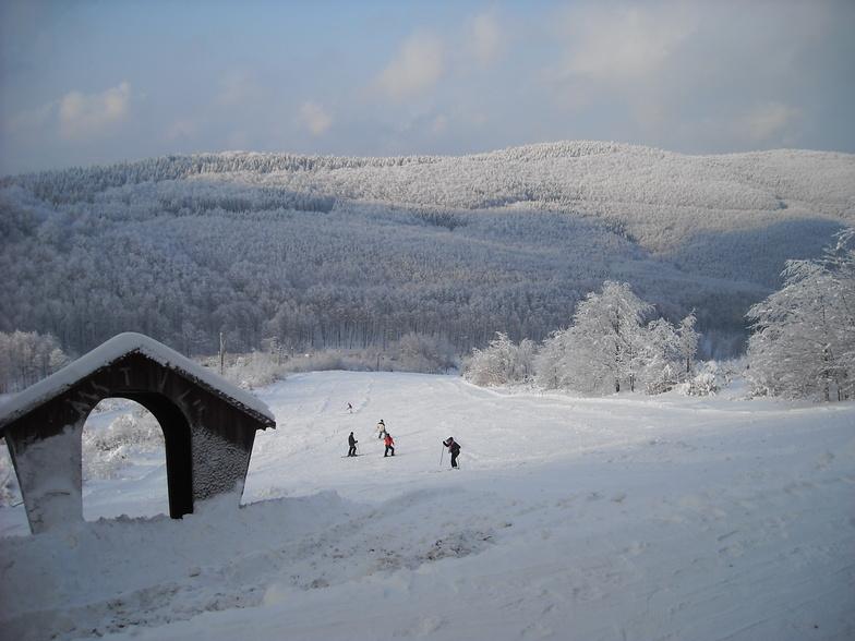 Bánkút snow