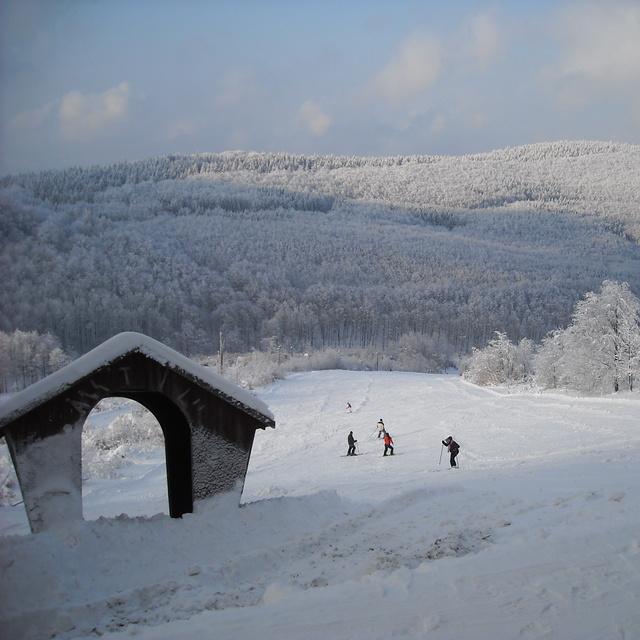 Ski slope No. 2, Bánkút