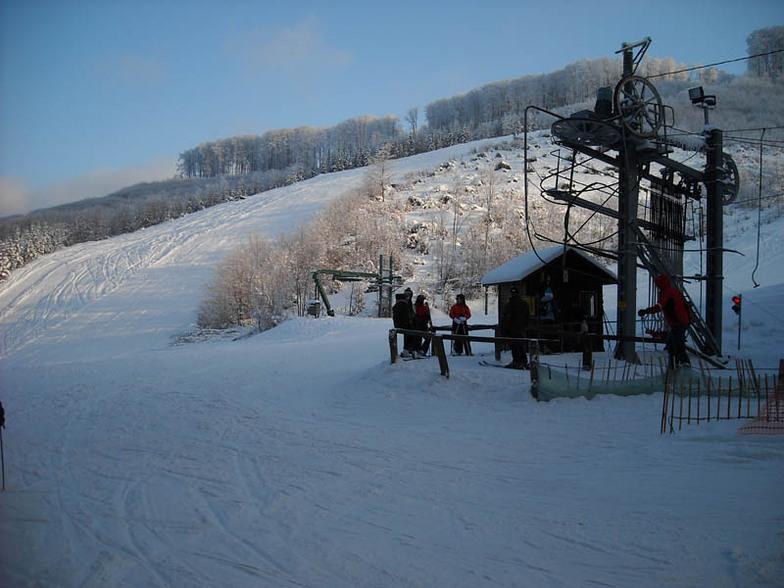 "Ski lift ""C"", Bánkút"