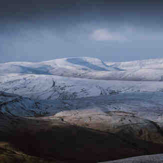 Early December Snow in the Brecon Beacons, Pen-y-Fan