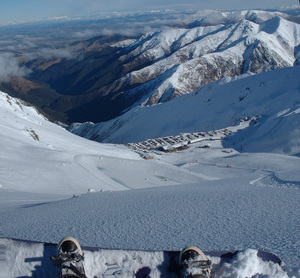 A Powder Run @ Mt Hutt! photo