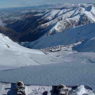 A Powder Run @ Mt Hutt!, Mount Hutt