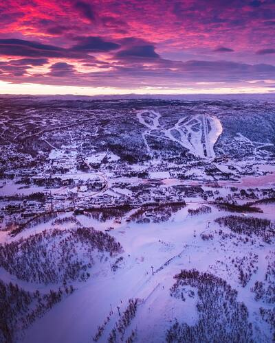 Geilo Ski Resort by: Snow Forecast Admin