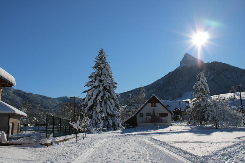 Saint Pierre De Chartreuse snow
