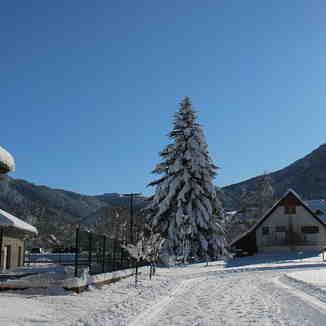 Saint Hugues Nordic ski path Déc 6 2020, Saint Pierre De Chartreuse