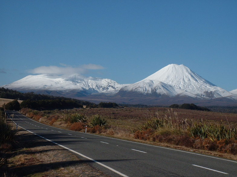 -Vulcano mountains, New Zealand, Tukino