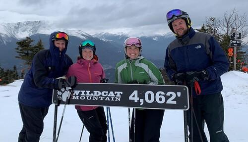 Wildcat Mountain Ski Resort by: Gary Helffenstein