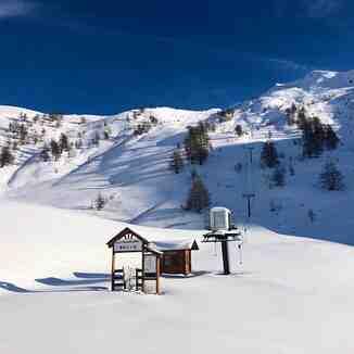 closed until January, Bardonecchia