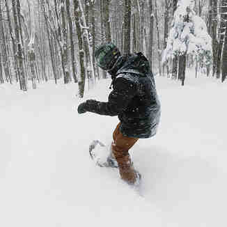 Up to 30 inches (75cm) of snow storm totals for NE USA, Bromley Mountain