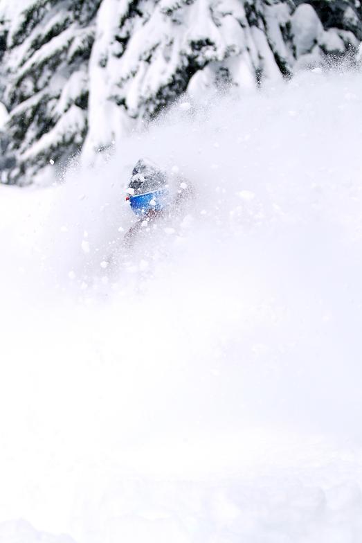 Alex Enters The White Room, Mt Hood Ski Bowl