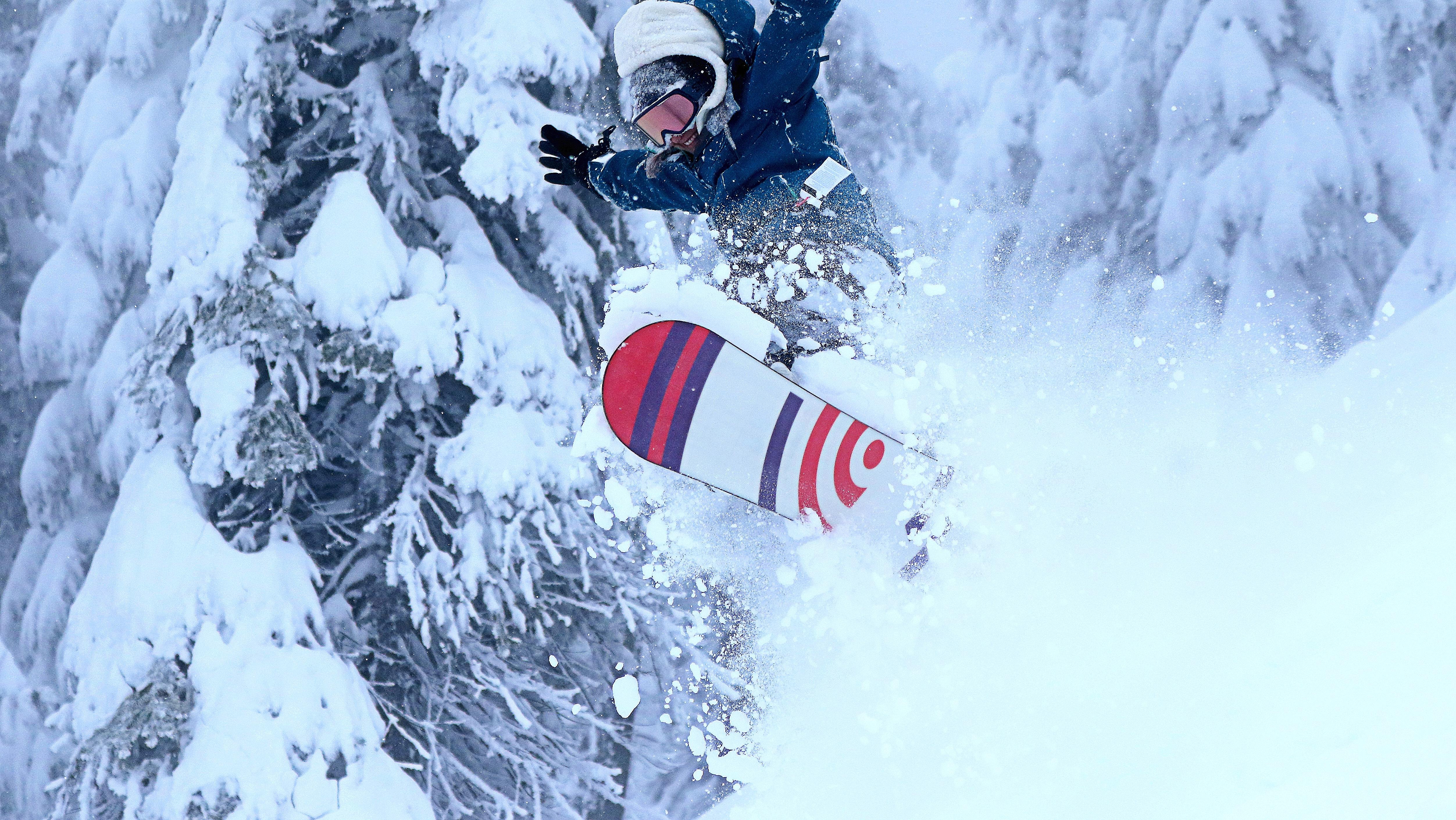 Jessica Robinson on a good morning., Mt Hood Ski Bowl