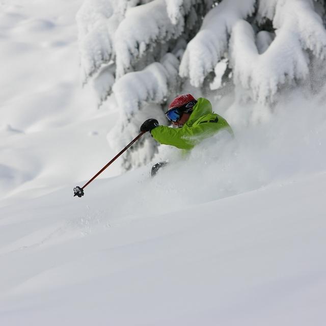 Deep Day on Mt Spokane, Mt Spokane Ski and Snowboard Park
