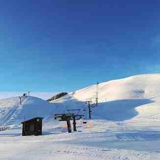 Sunrise in Anilio Ski Resort, Anilio Adventure Park