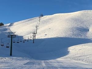 Stairway to skiing heaven, Anilio Ski Resort photo