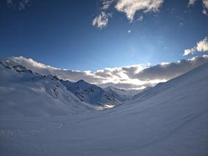 Ovit Mountain Sunset photo