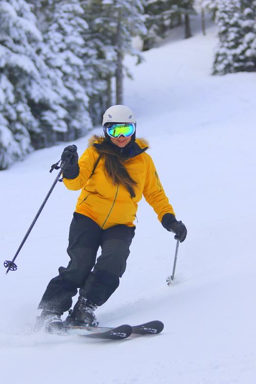 CP linking a few turns., Mt Hood Ski Bowl