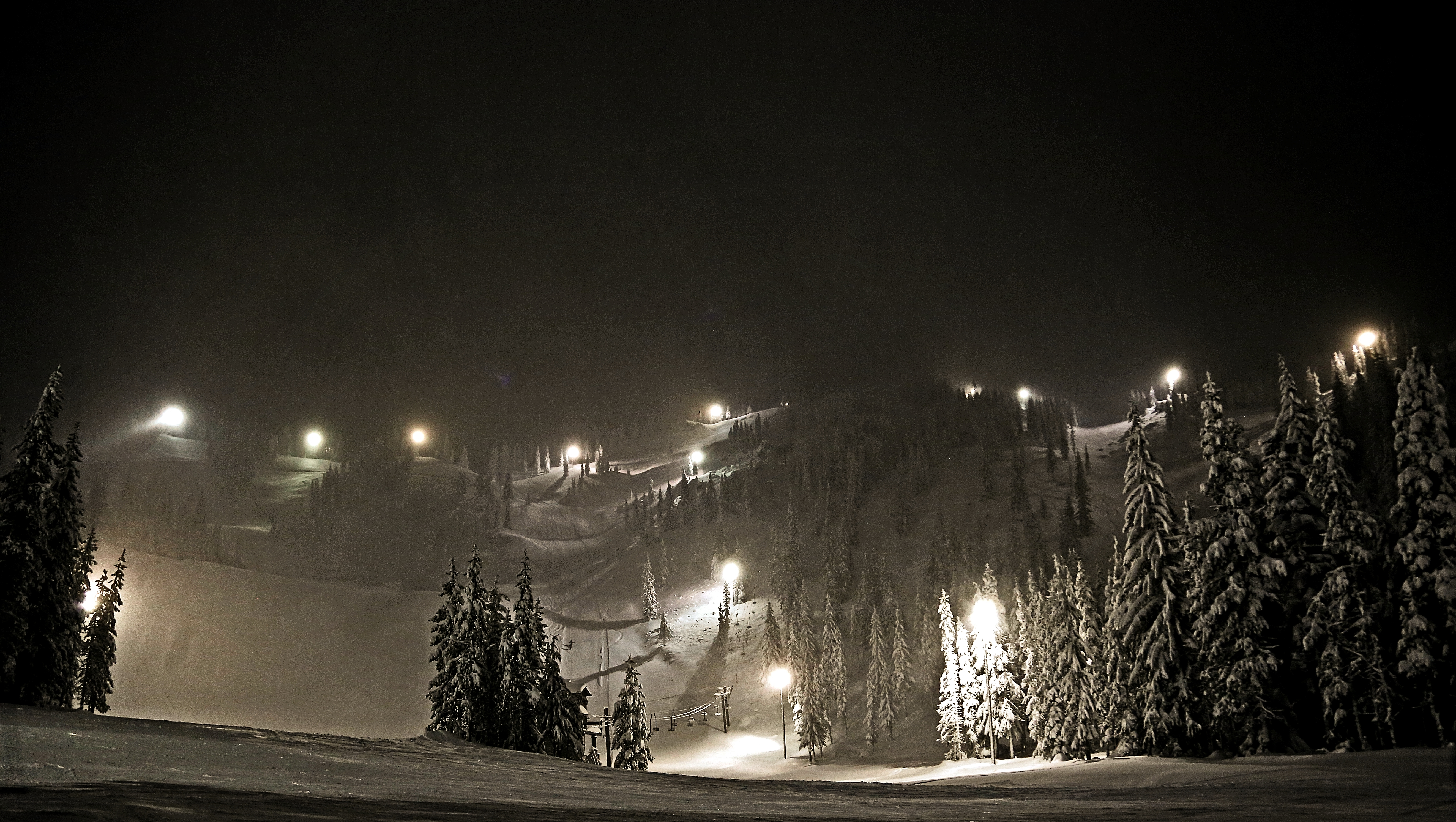 Night Terrain, Mt Hood Ski Bowl
