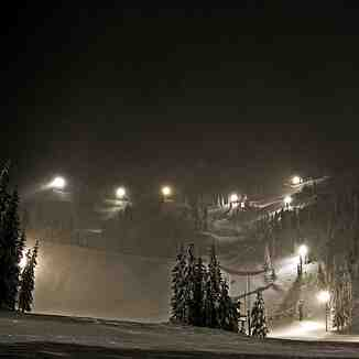 Night Terrain, Mt Hood Ski Bowl