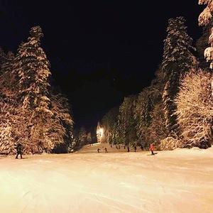 Ski night, Kozara photo