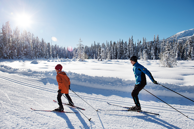 Skate Ski Family, Ski Callaghan