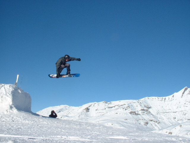 Jump Sander in Val d'Isere