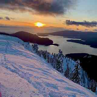 Sunset, Cypress Mountain