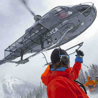 Adrenalin Descents heli drop ski touring, Kicking Horse