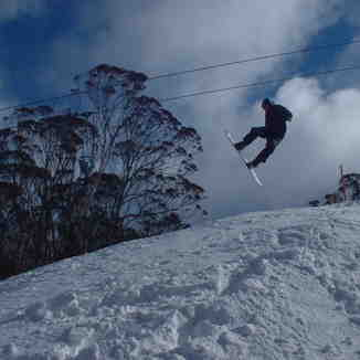 crash jump, Thredbo
