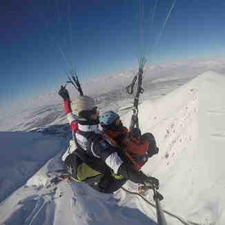 Paragliding - Palandöken Ski Center, Mt Palandöken