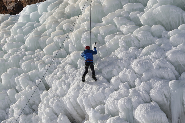 Ice Climbing - Palandöken Ski Center, Mt Palandöken
