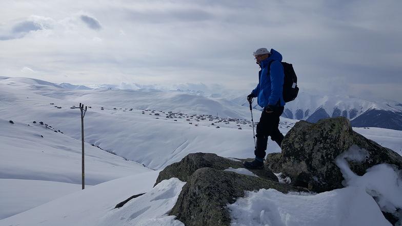 Çağrankaya Yaylası Kar Yürüyüşü, Turkey Heliski-Ikizdere