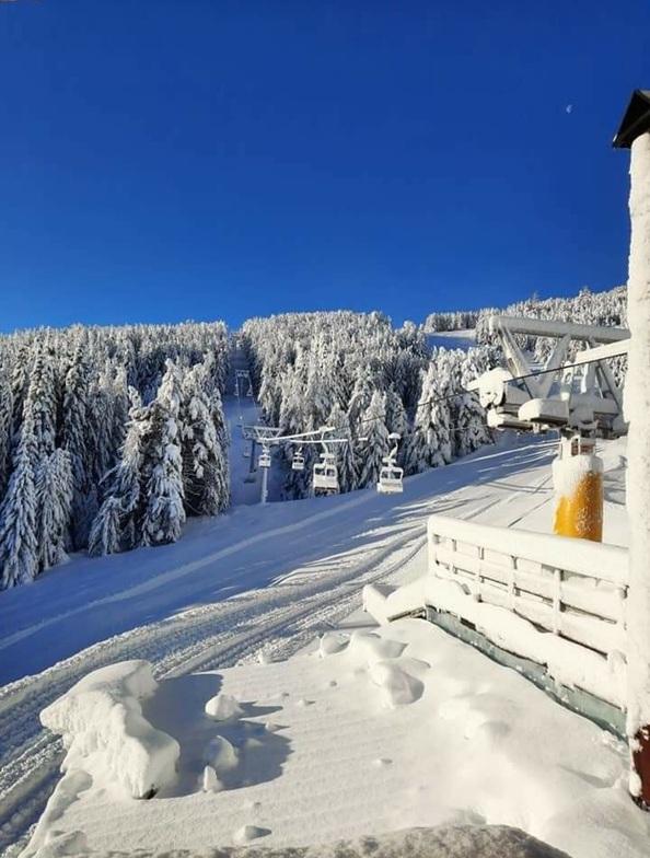 Bezbog Ski Centre snow