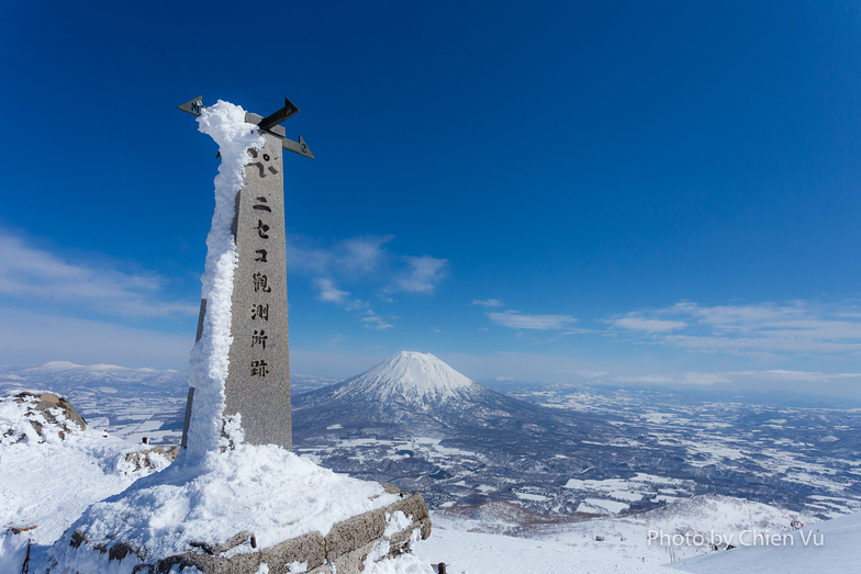 Yotei mount from Annupuri, Niseko Grand Hirafu