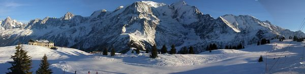 Chaine du Mont-Blanc, Les Houches
