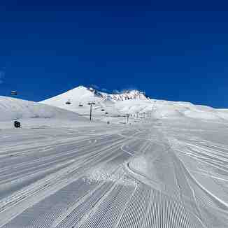 Good look on Erciyes from Develi, Erciyes Ski Resort